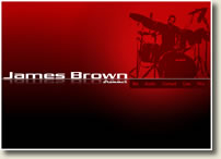 James Brown the drummer